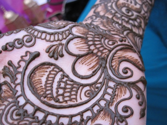 Henna - up close and personal