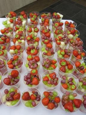 fruit, strawberries