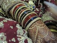 bangles, bride