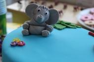 Elephant cake figure