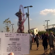 London Stadium and ticket