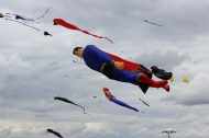 Superman kite
