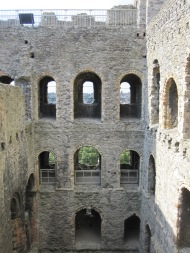 Rochester Castle windows