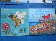 Bees artwork