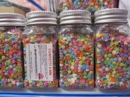 Sugar confetti