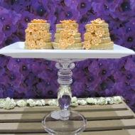 Tiny tiered cakes