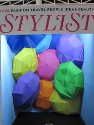 Umbrella cover booth