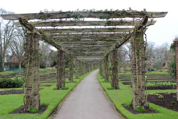 Path and arches