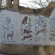 Lion themes mosaic