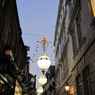 St Christopher's Place lights