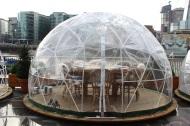 Plastic igloo