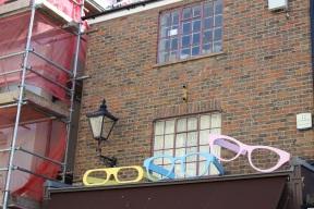 Giant glasses