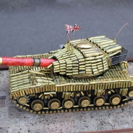 Tank made of bullets