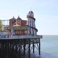 Pier and helter skelter
