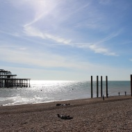 West pier shell