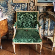 Beautiful green chair