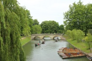 Clare Bridge, over the River Cam