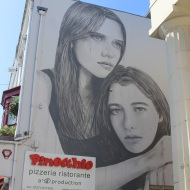 Rone was commissioned from Australa to come paint this