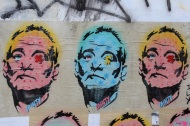 MInty Street Art - Bill Murray