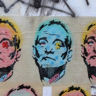 MInty Street Art - Bill Murray