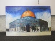 Al Aqsa mosqu painting