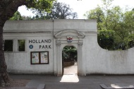 Holland Park entrance