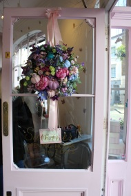 Door flower decorations