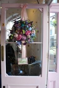 Door flower decorations