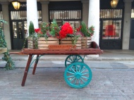 Flower cart, Coven Square Garden