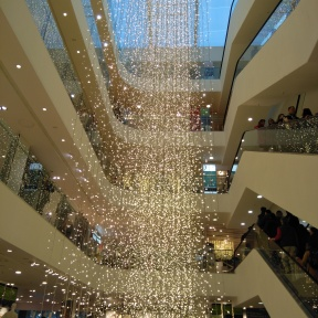 Glittery lights, John Lewis Oxfordv Street