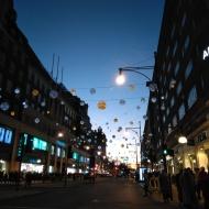 Christmas lights, Oxford Street