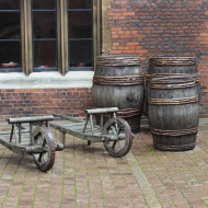 Barrow and barrels
