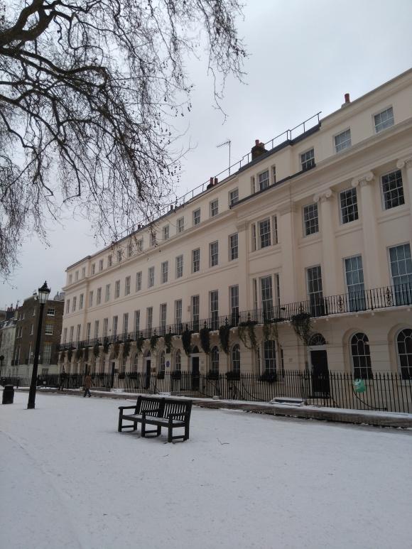 Regency style building