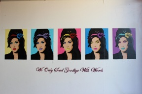 Amy Winehouse stencils