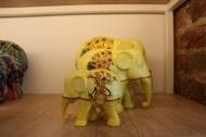 Van Gogh Sunflowers elephants
