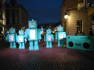 Tiffany's robots, Covent Garden