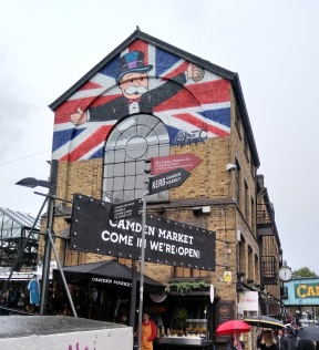 Mr Monopoly at Camden market