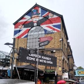 Mr Monopoly at Camden market