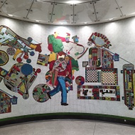 Mosaic by Eduardo Paolozzi