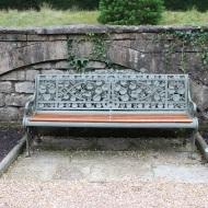 Embellished bench