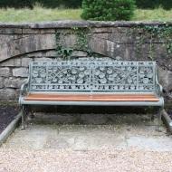 Embellished bench