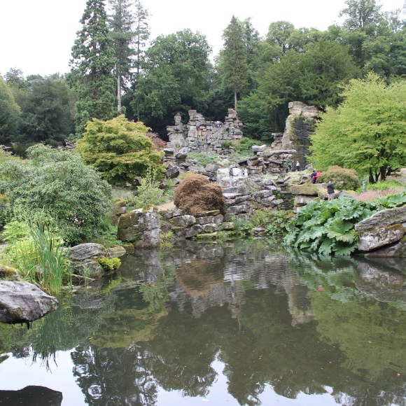 Victorian rock garden