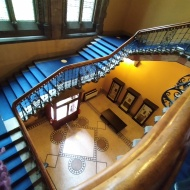 Hunterian Museum staircase