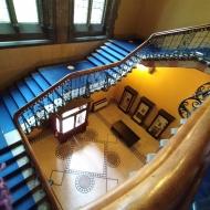Hunterian Museum staircase