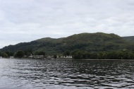 Houses along Loch Lomond