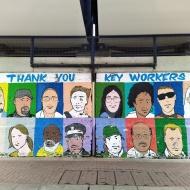 NHS street art