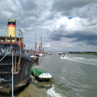 sail boat on Blackwater river