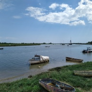 Boats on Blackwater river